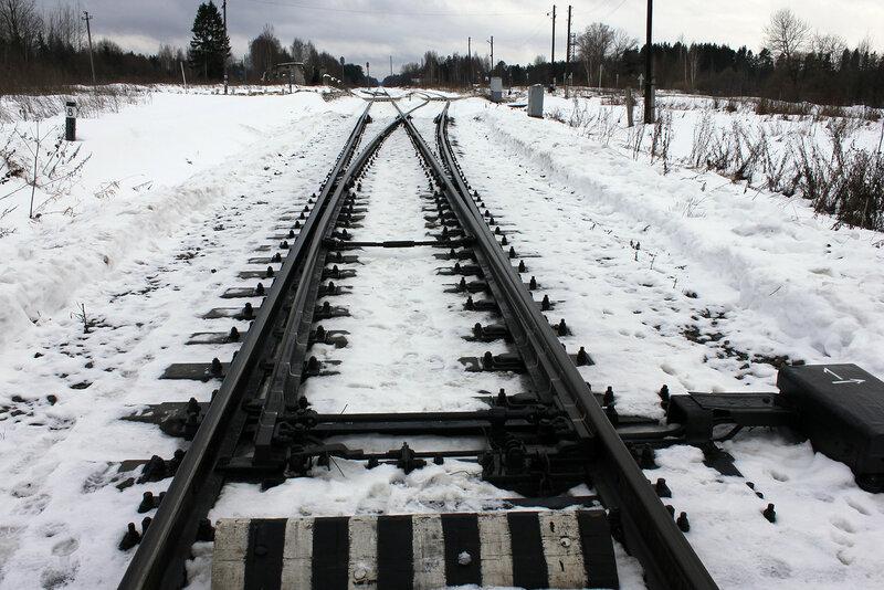 Зашитые стрелки станции Белый городок - поезда проследуют станцию на красный сигнал