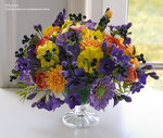 Цветы ручной работы, цветы из полимерной глины, handmade, лепка цветов,