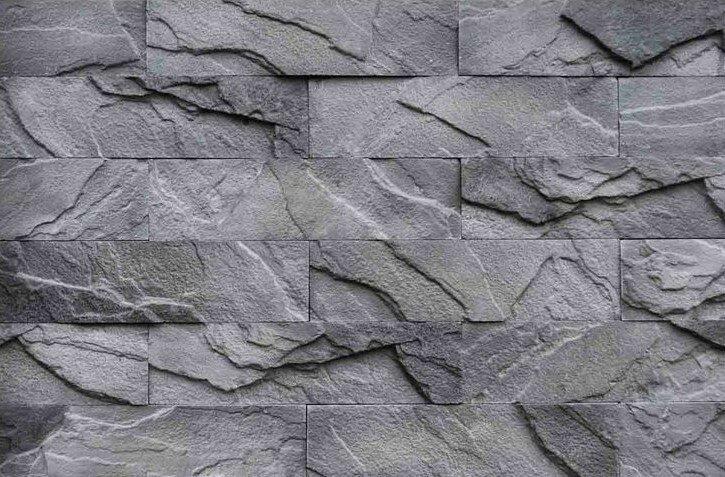 купить формы для декоративного камня, искусственный камень из гипса, внутренняя отделка камнем,Кирпичный скол