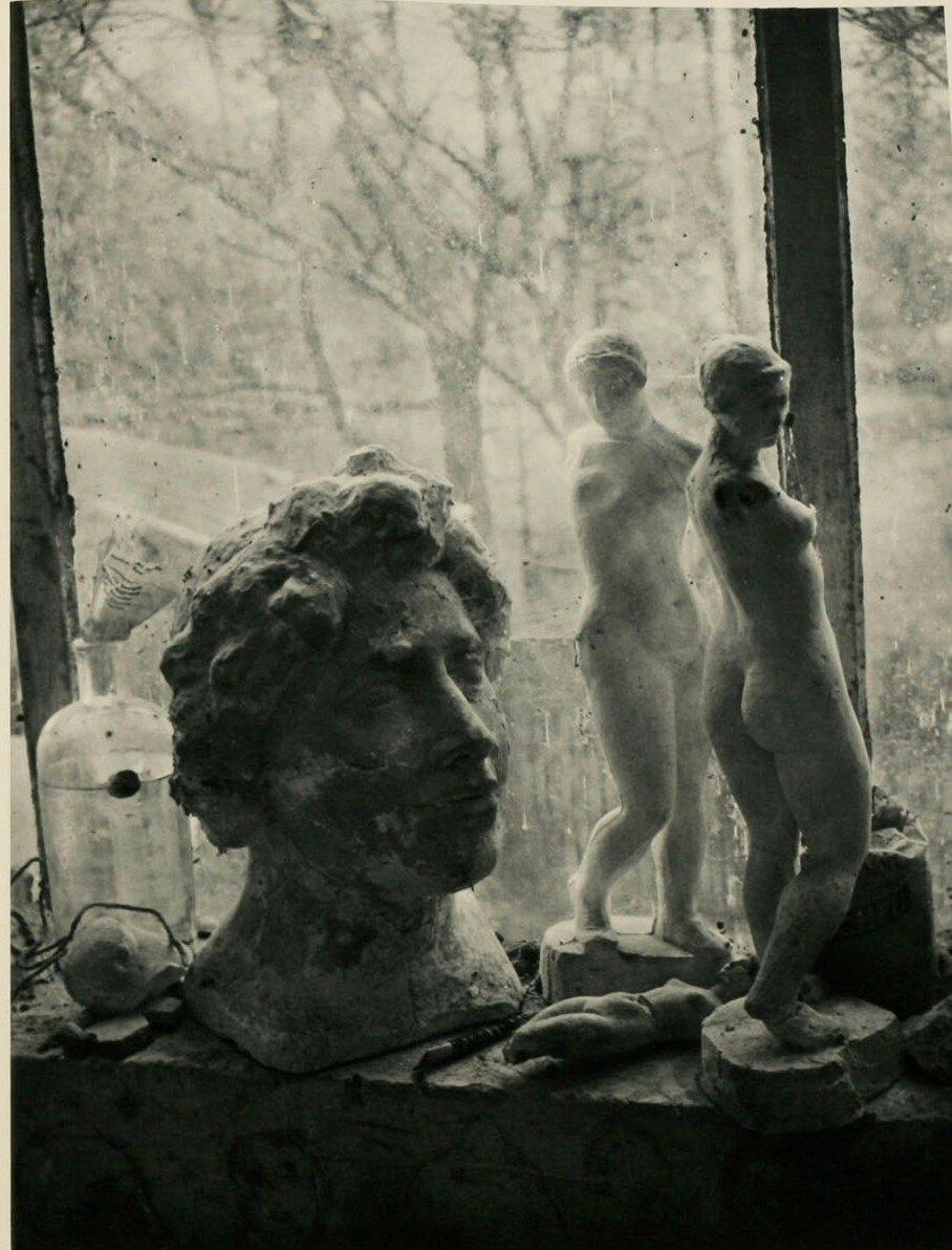 1936. В студии Аристида Майоля