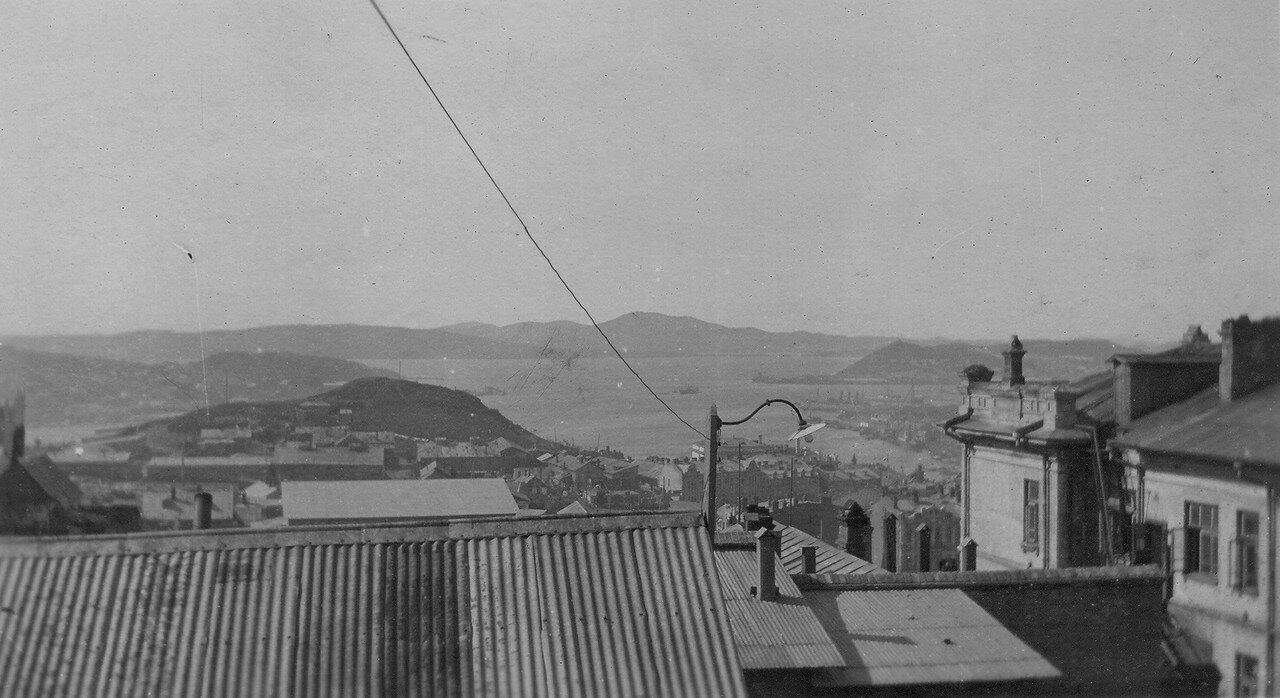 Вид на город с балкона Вудов