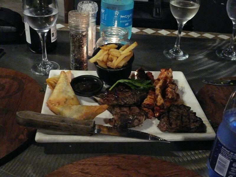 ЮАР, Кейптаун, ресторан, еда