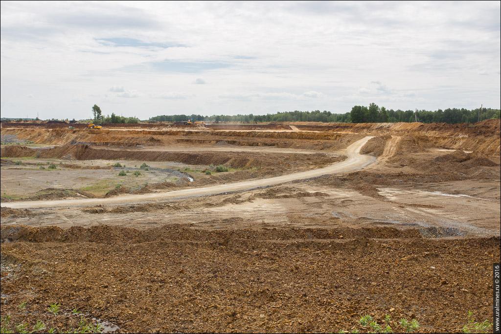 Ново-Сухоложский карьер цементных глин