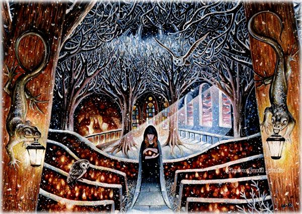 Зима в моем храме Кира Костенко Оксана Шохалевич