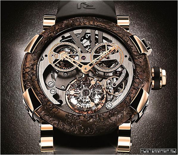 Необычные и дорогие часы Romain Jerome Titanic-DNA