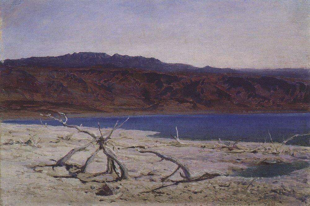 Мертвое море. 1882.jpg