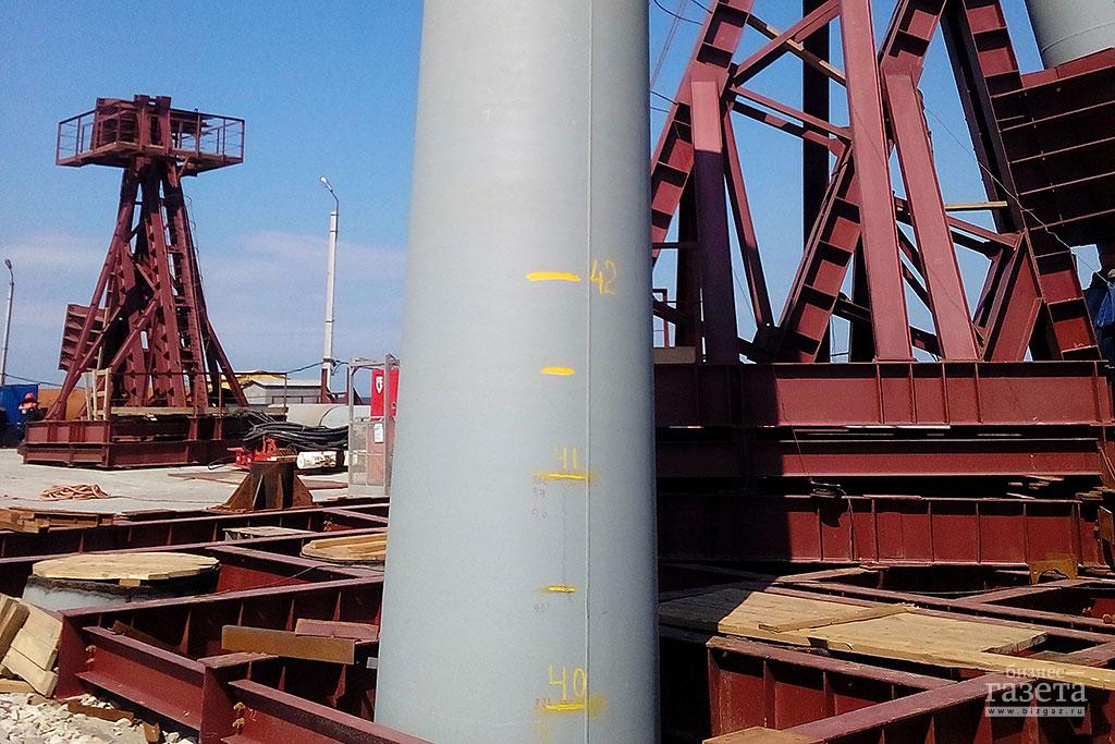 Фоторепортаж: Строительство Керченского моста