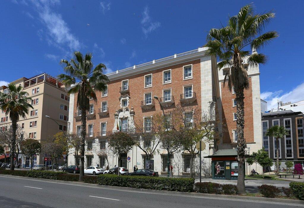 Малага. Дворец Правосудия