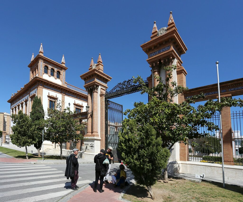 Малага. Королевская табачная фабрика Табакалера (Real Fábrica de Tabacos, Tabacalera)