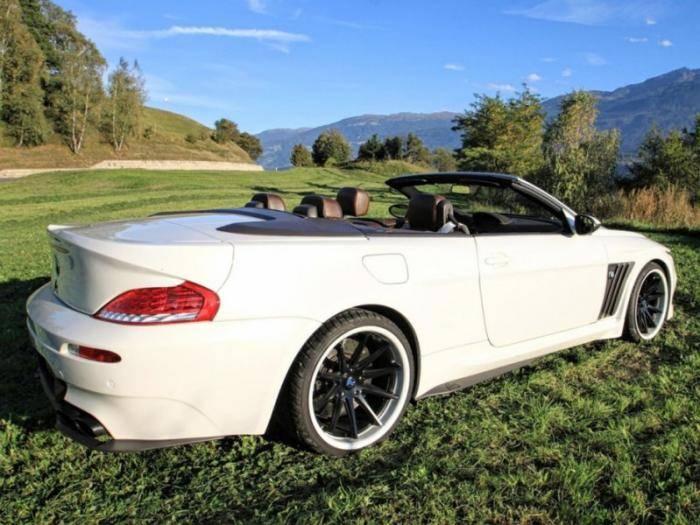 Выставлен на продажу один из 10 доработанных BMW M6 Vilner