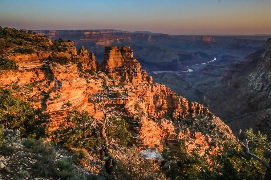 5 Мы увидели прекрасные горы Гранд Каньона