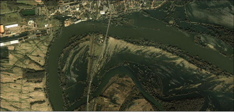 8. Последствия наводнений в Германии, 2002 год.