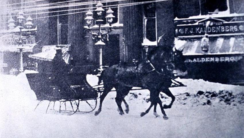 5. Саратога-Спрингс, США 1888 — 147 сантиметров снега «Снежная буря 1888-го» охватила весь северо-во