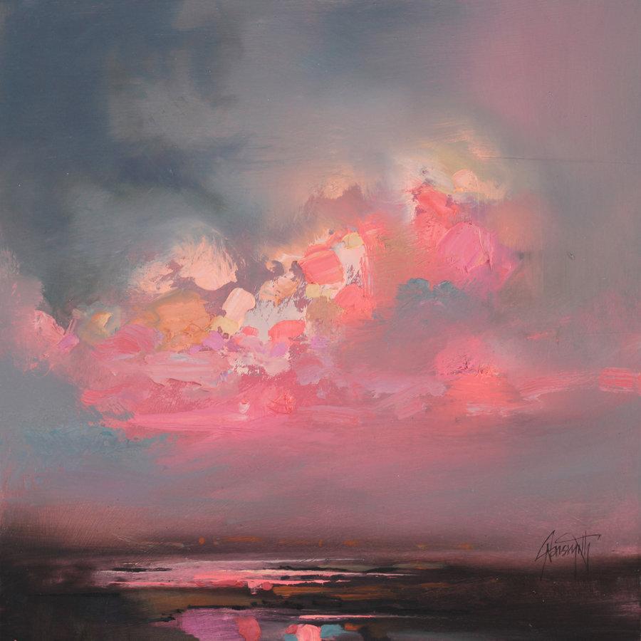 Облака и небо – особая страсть художника. Их плотность и прозрачность, способность отражать и прелом