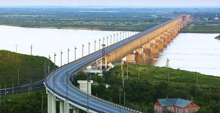 3. Амурский мост, Хабаровск В начале ХХ века возведение этого «амурского чуда» стало завершающим эта