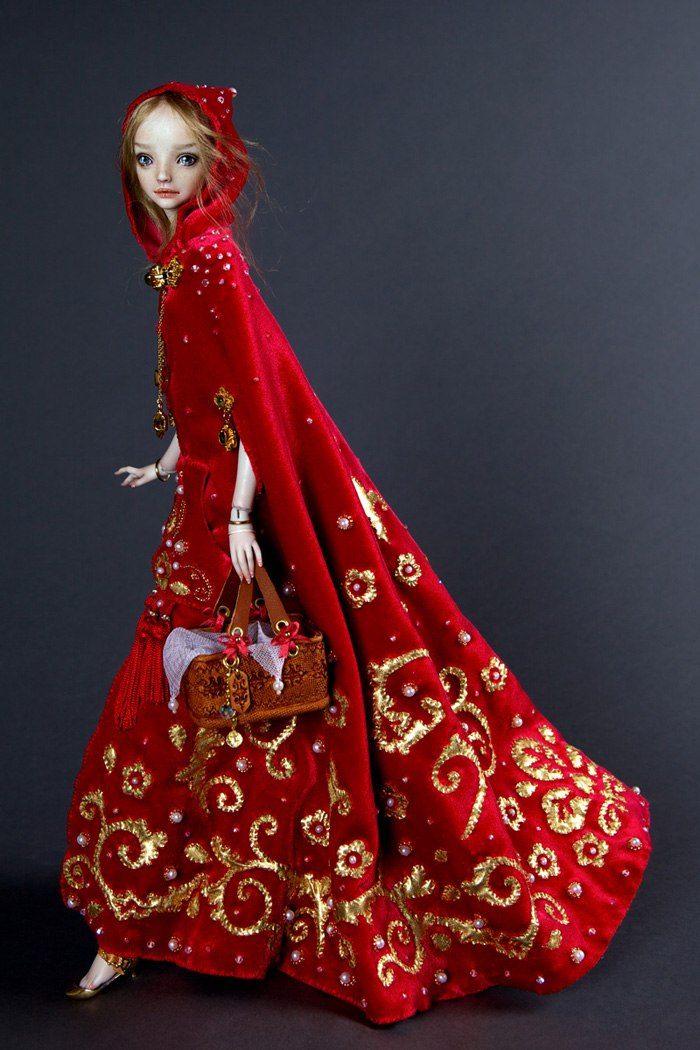 Фарфоровые куклы ручной работы от российского дизайнера
