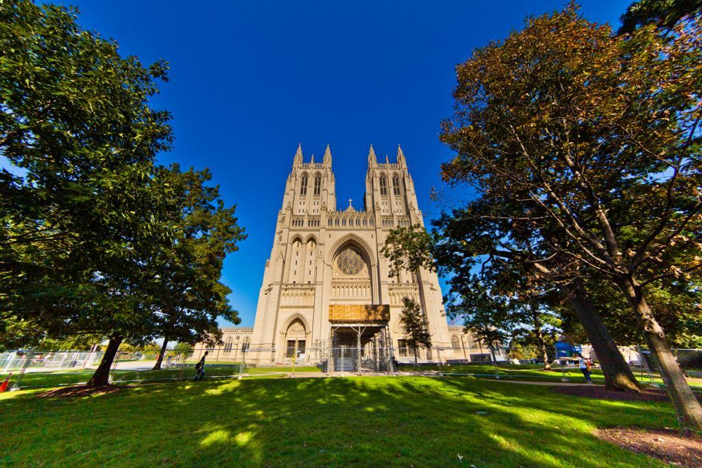 США. Вашингтон, округ Колумбия. Вашингтонский кафедральный собор. (ehpien)