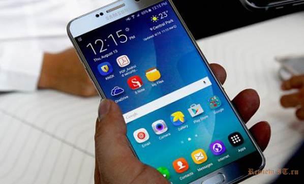 Самсунг ожидает, что продажи Galaxy Note 7 обгонят продажи его предшественника