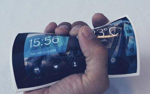Самый первый в мире гнущийся смартфон