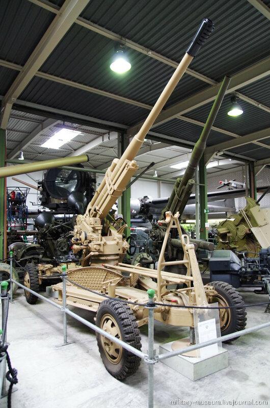 Артиллерия в Военном музее в Кобленце