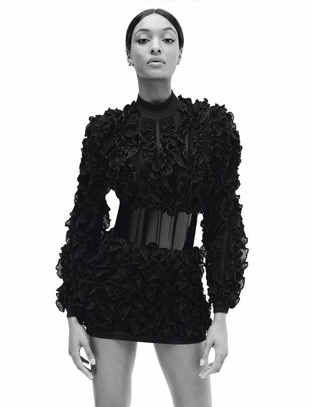 Supermodel Jourdan Dunn Covers Madame Figaro Latest Edition