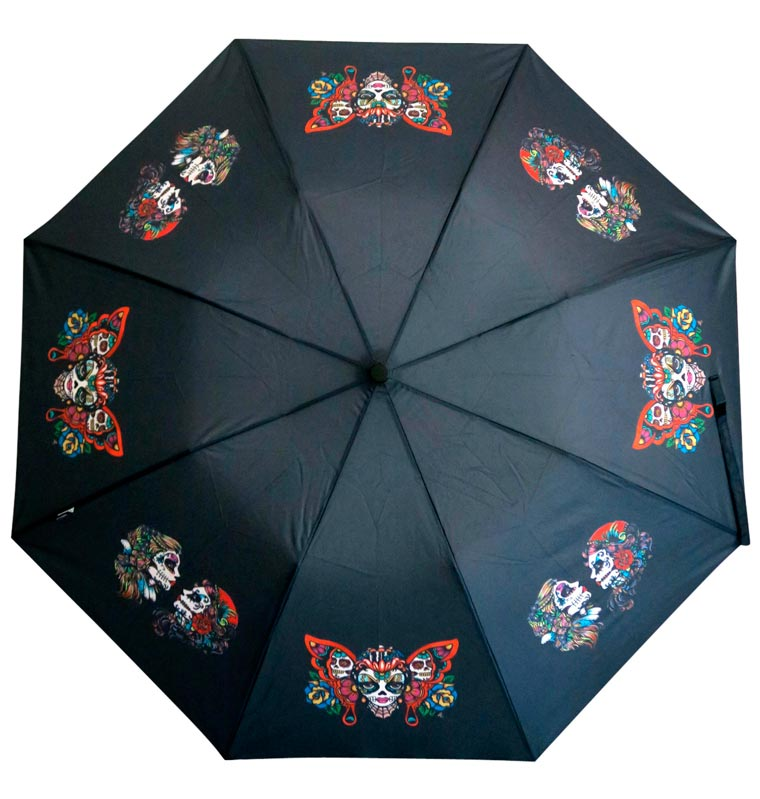 Pluvio Umbrella - These pretty umbrellas will make you love rainy days