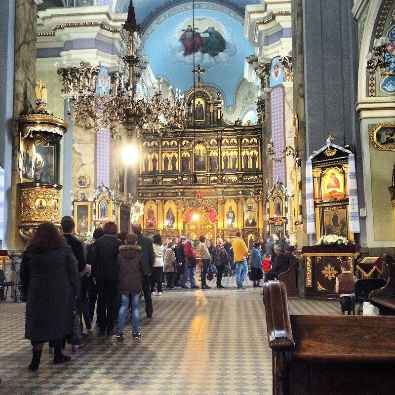 Молебен во здравие Украины
