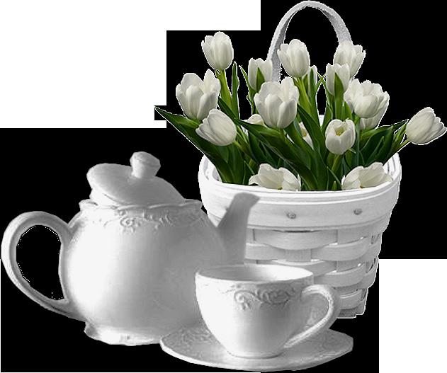 цветы в вазах