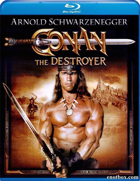 Конан-разрушитель / Conan the Destroyer (1984/BDRip/HDRip)