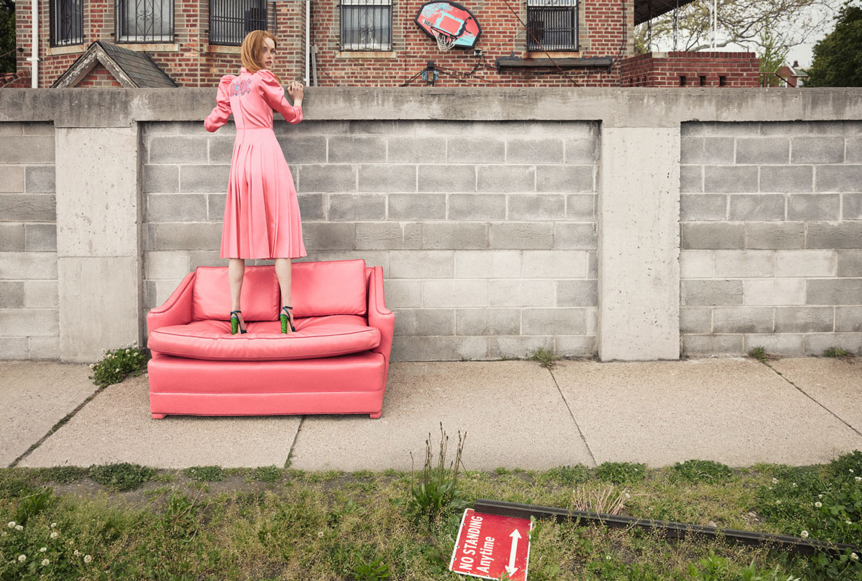 Rianne van Rompaey & Edie Campbell by Cass Bird - Self Service Magazine no45 fall-winter 2016-2017