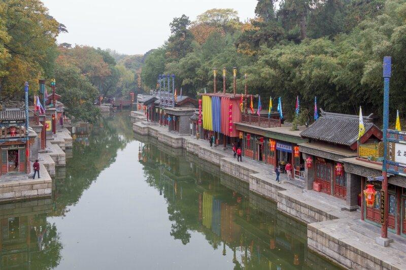 Торговая улица Сучжоу, парк Ихэюань, Летний императорский дворец, Пекин