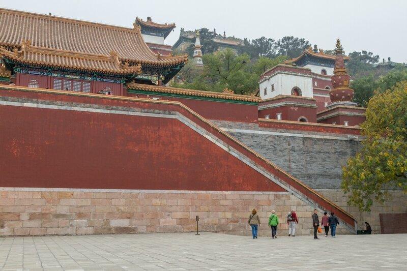 Буддийский монастырь, парк Ихэюань, Летний дворец, Пекин