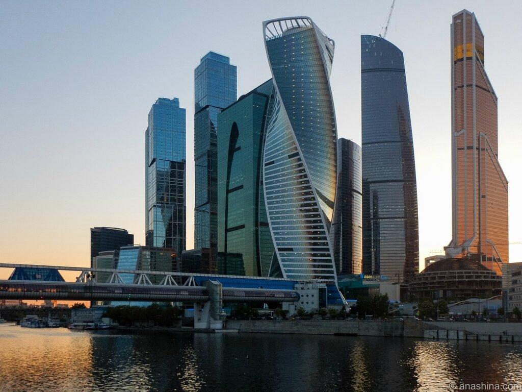 "Небоскребы ""Москва-Сити"""