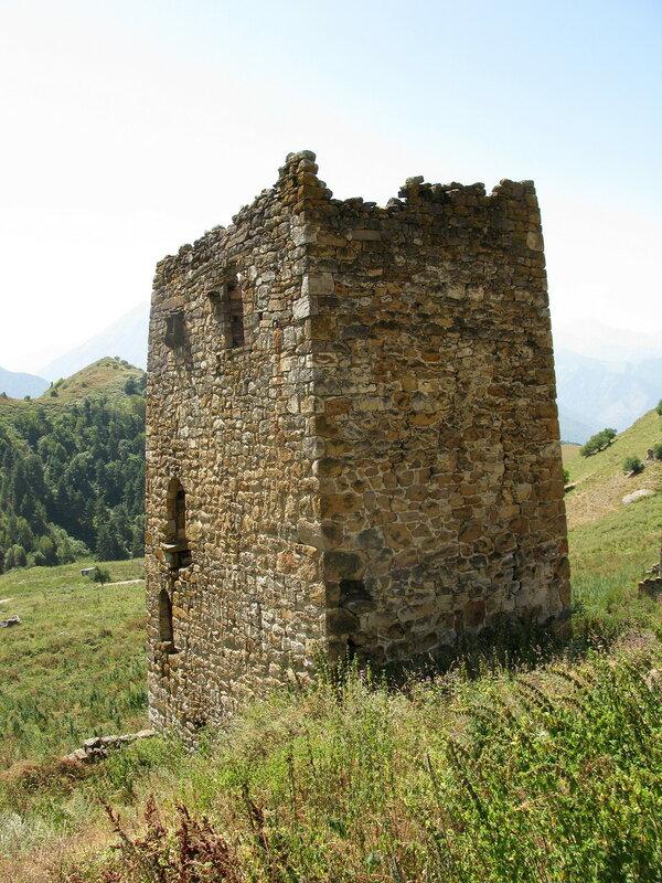 Полубоевая башня, Ний
