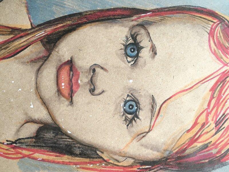 Чудесные портреты художницы luboff00