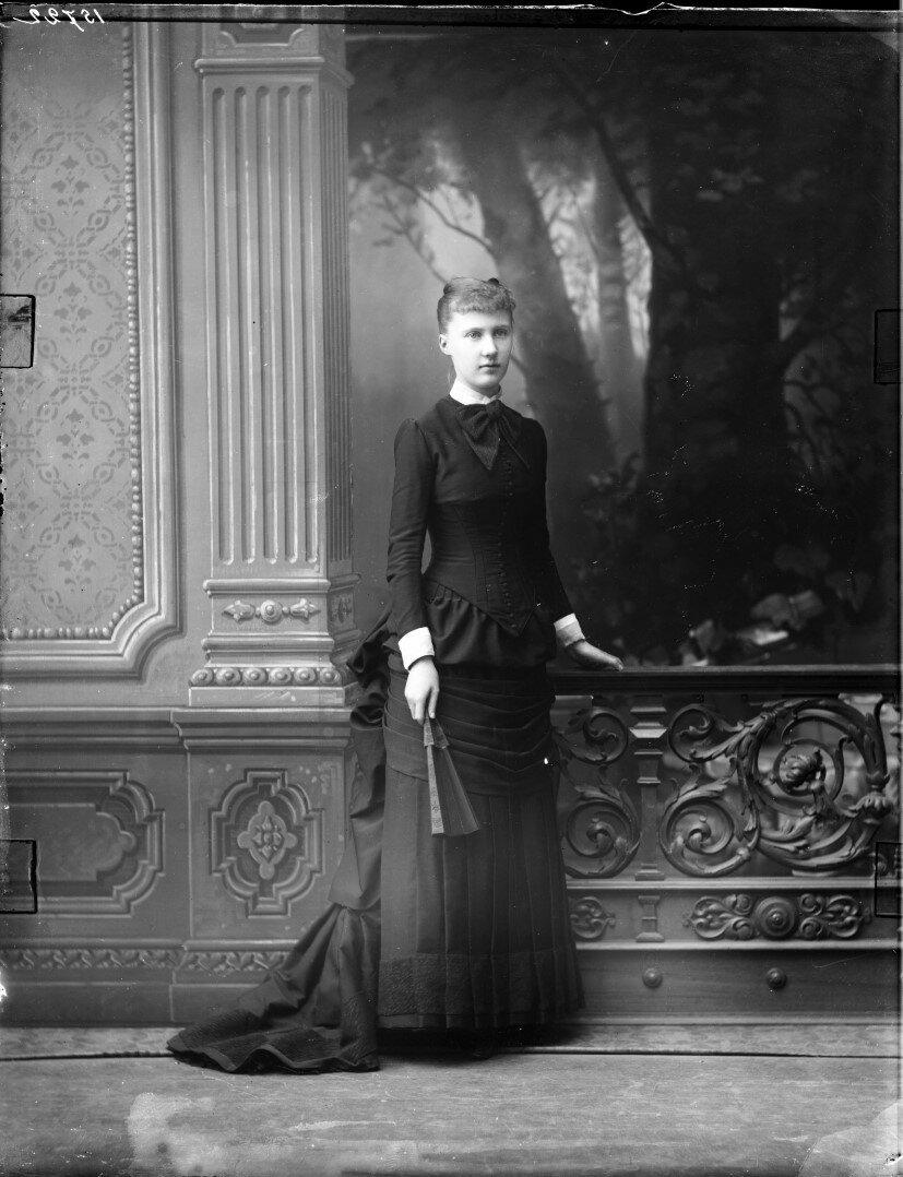 1882. Елизавета Августа Мария Агнесса, принцесса Саксен-Альтенбургская