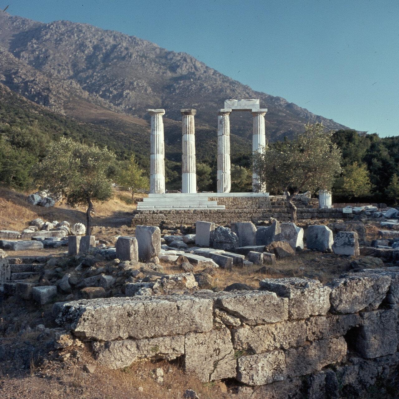 Самофракия. «Святилище великих богов». Теменос и Гиерон. 1964