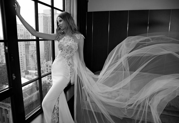 Свадебные платья на грани приличий.