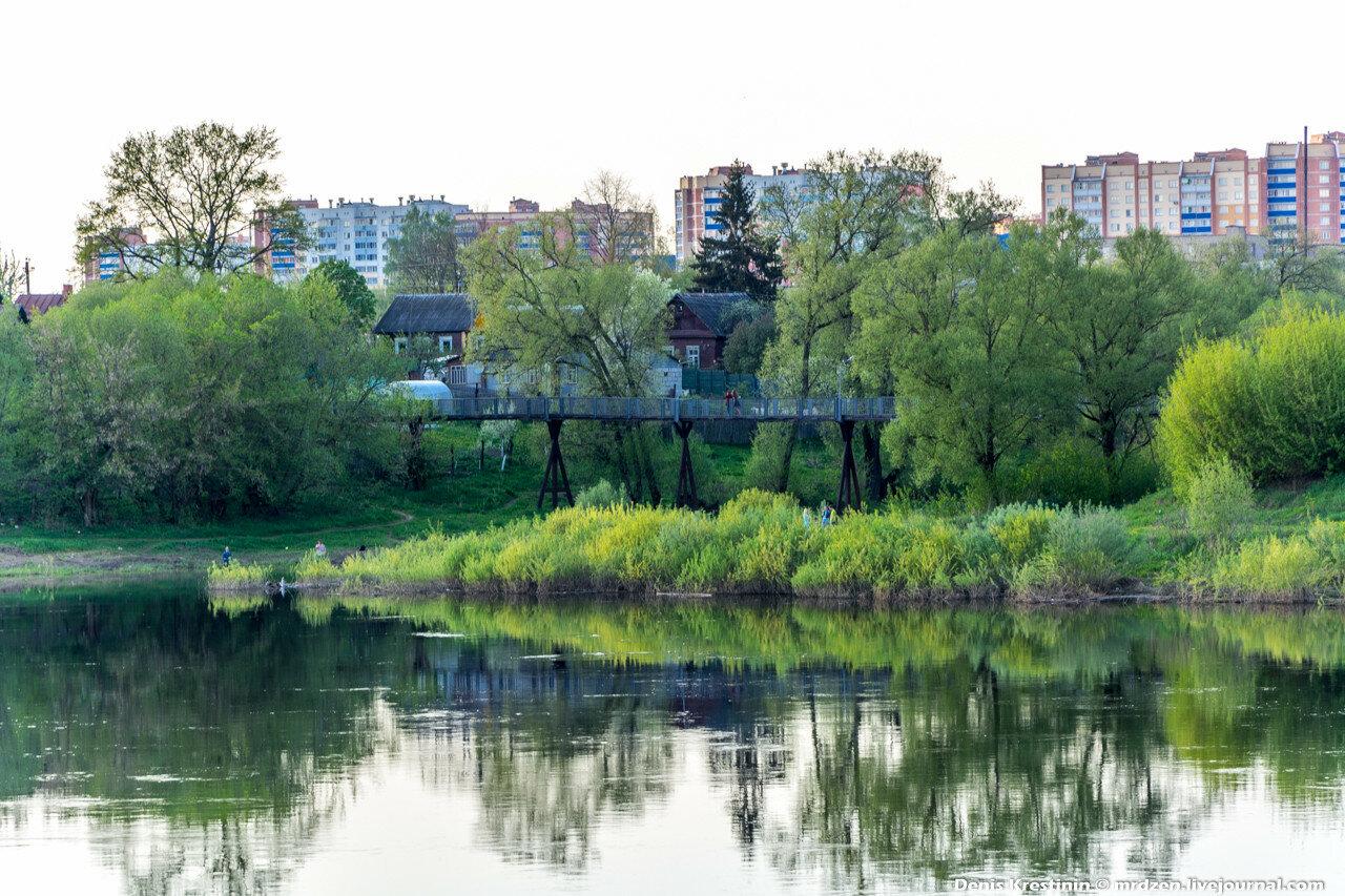 Полоцк. река Западная Двина и Полота