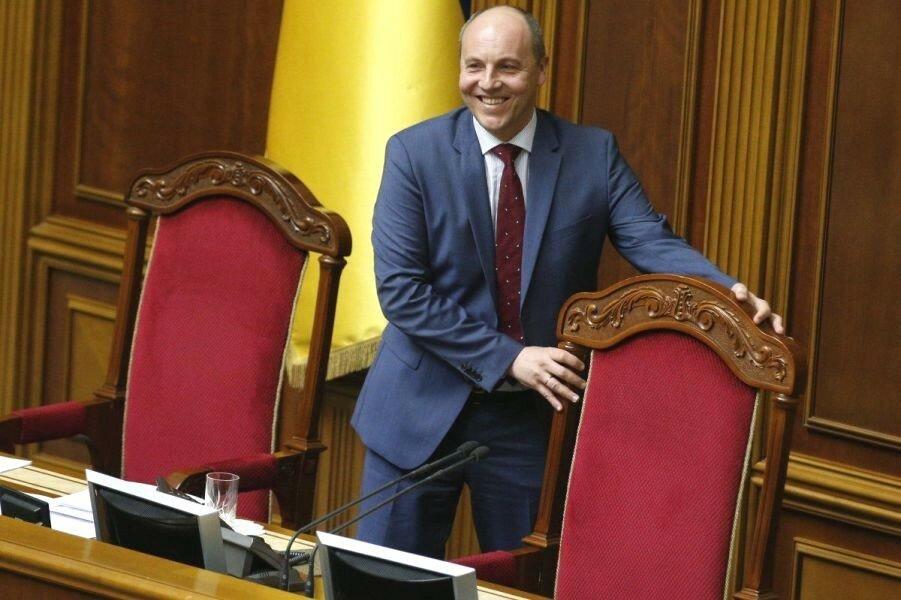 Председатель ВРУ Андрей Парубий