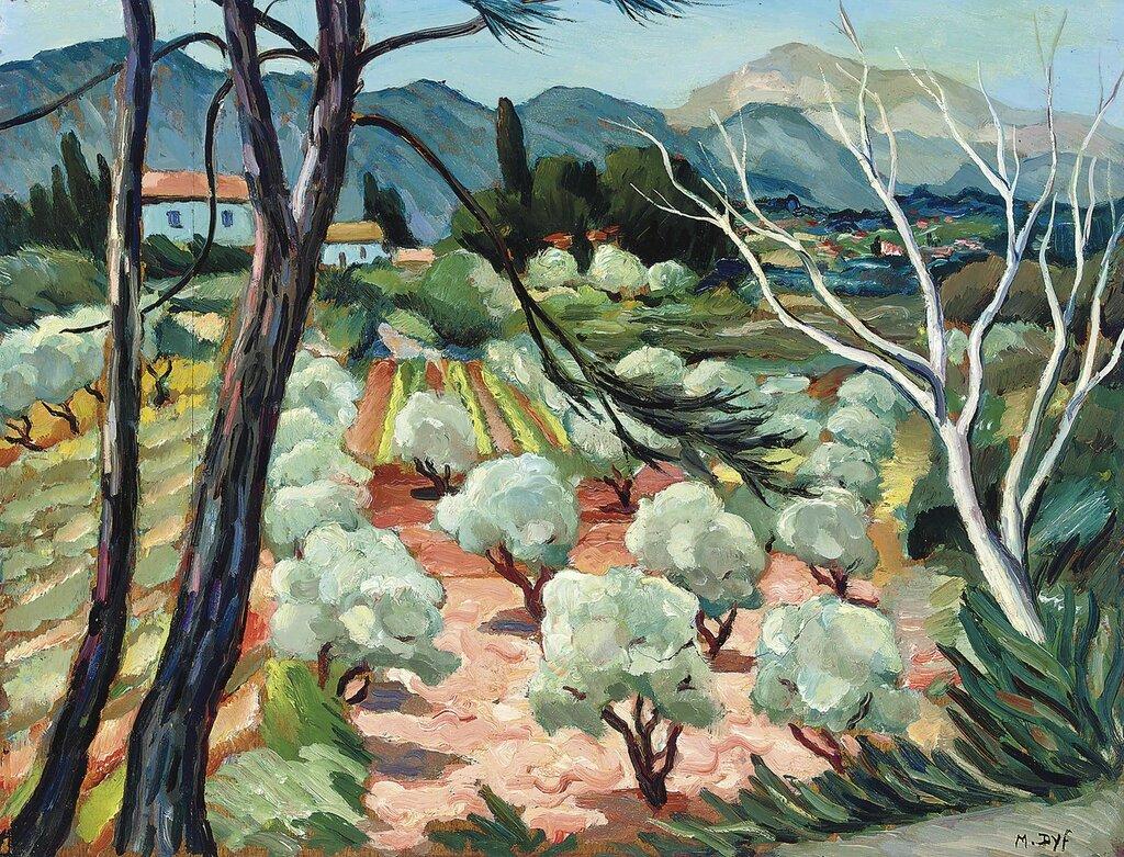 Trees at Provence, 1930.jpg