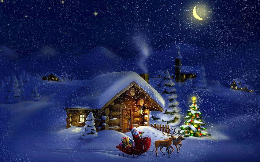 Новый год Картинки Сказка