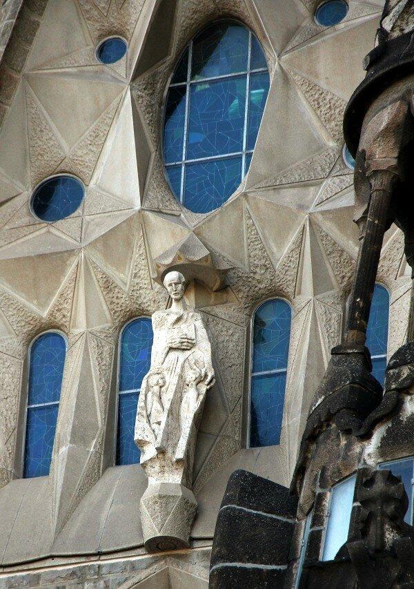 Sagrada Família. Main nave