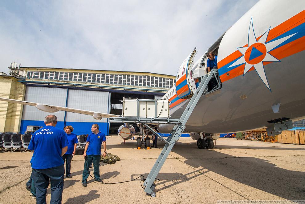 8. Модули устанавливаются на борту самолета за 20 минут. Российская разработка является уникаль