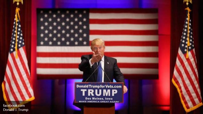 Противники Трампа подрались сего любителями