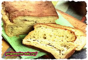 Домашний хлеб на картофеле в духовке