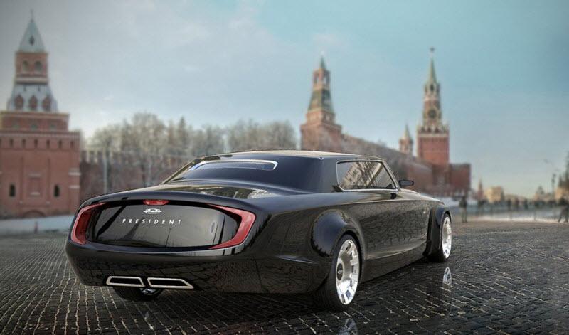 Концепты российских авто