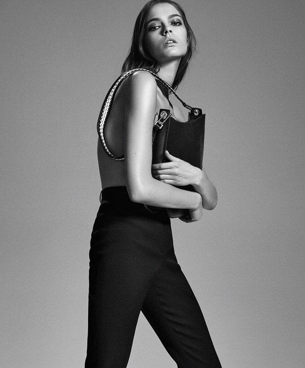 Mina Cvetkovic Rocks Hugo Boss for Bazaar Spain September 2016 Issue