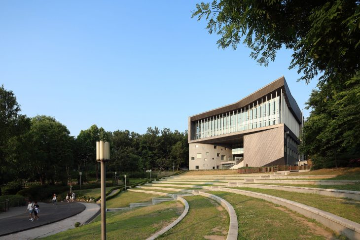 Adagio Valley for Department of Music at University of Seoul by Wooridongin Architects