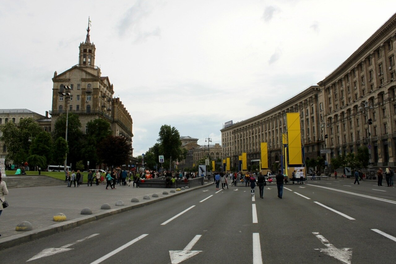 Майдан Незалежности 8 мая 2016 года